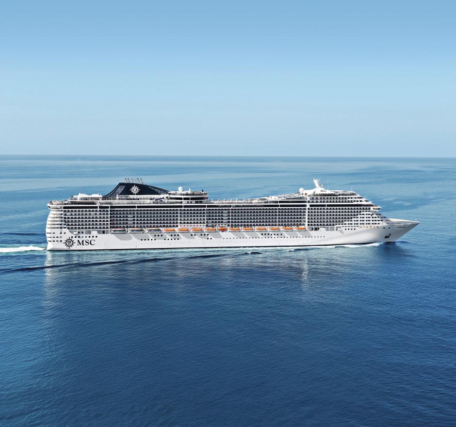 Krydstogtskibet MSC Splendida