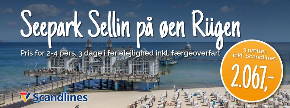 Seepark Sellin på øen Rügen