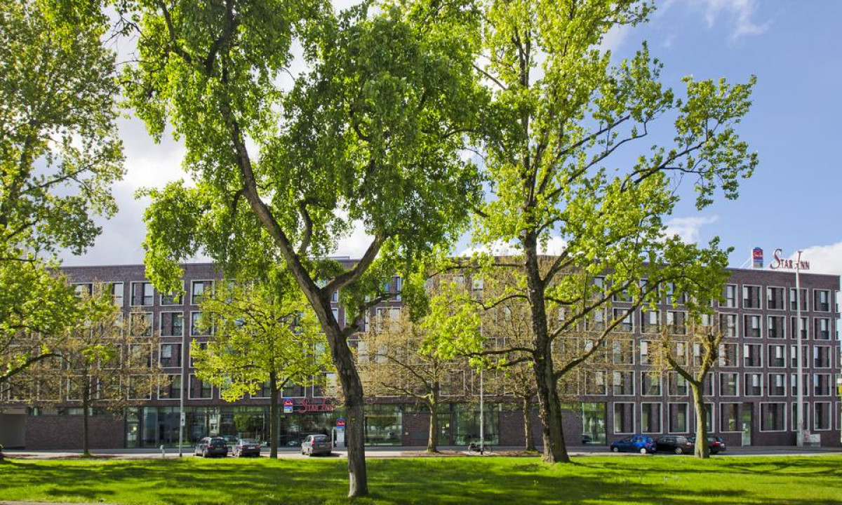 Hotel Star Inn Premium - Naturgrønt område