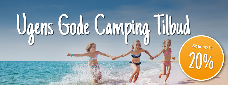 20% på Ugens Gode Tilbud Camping