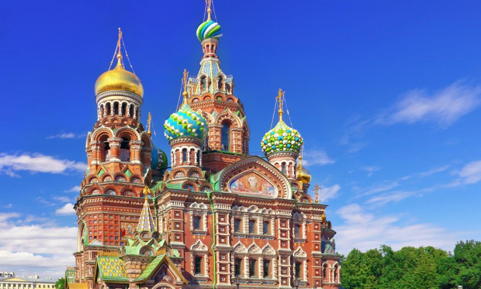 Skt. Petersborg - Unik kirke i byen
