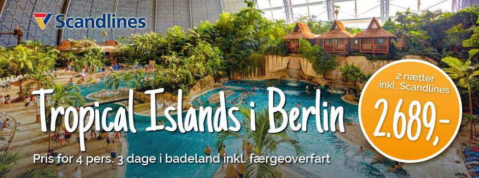 Badelandet Tropical Islands i Berlin
