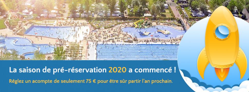Pre-reservation 2020