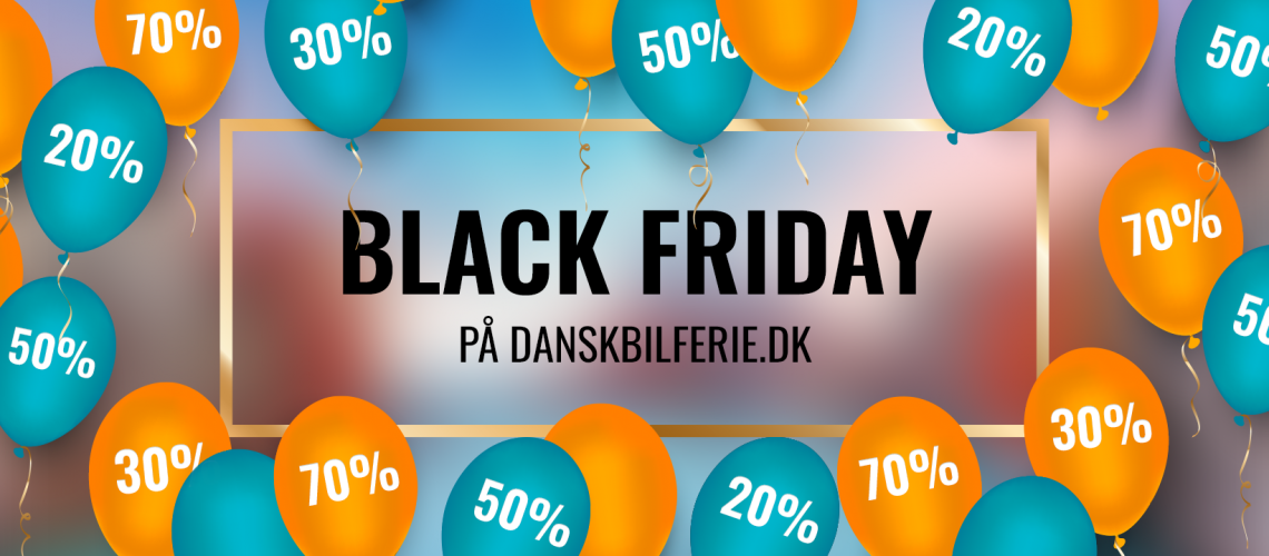 Black Friday Dansk Bilferie