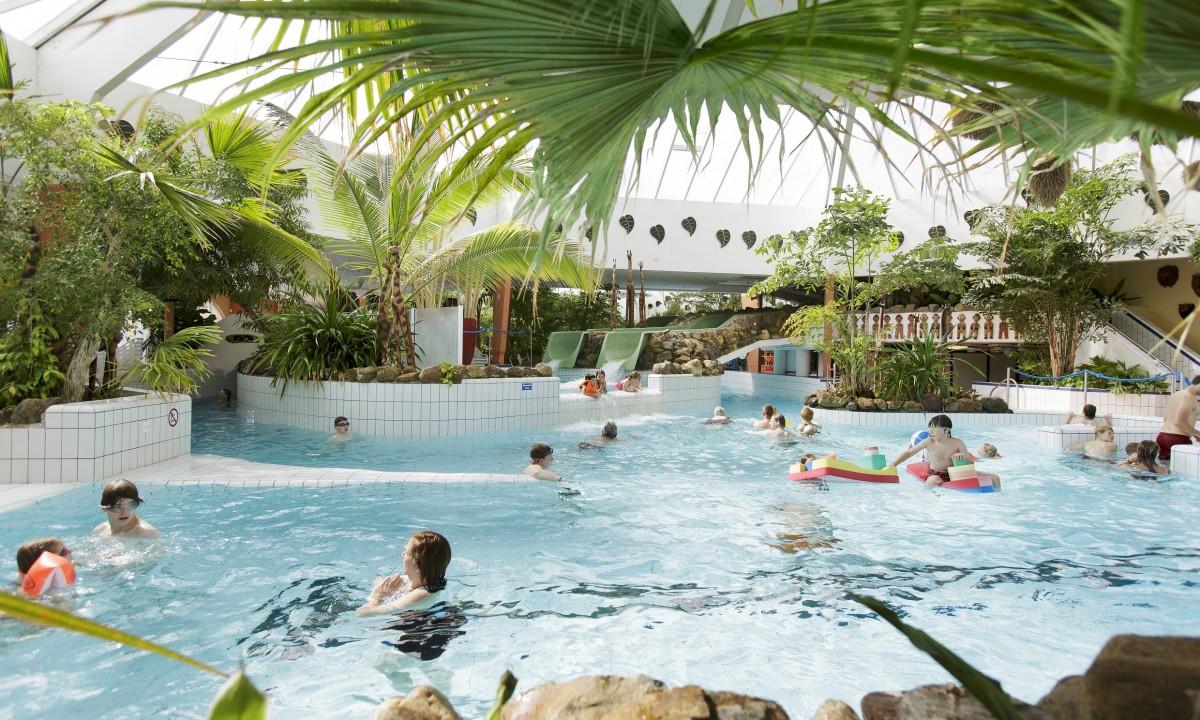 Badegæster i Park Eifel