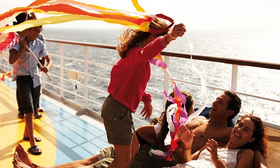 Ombord - Familie nyder livet på dækket