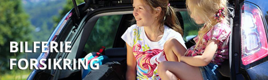Bilferie forsikring - tryghed på kør selv ferien