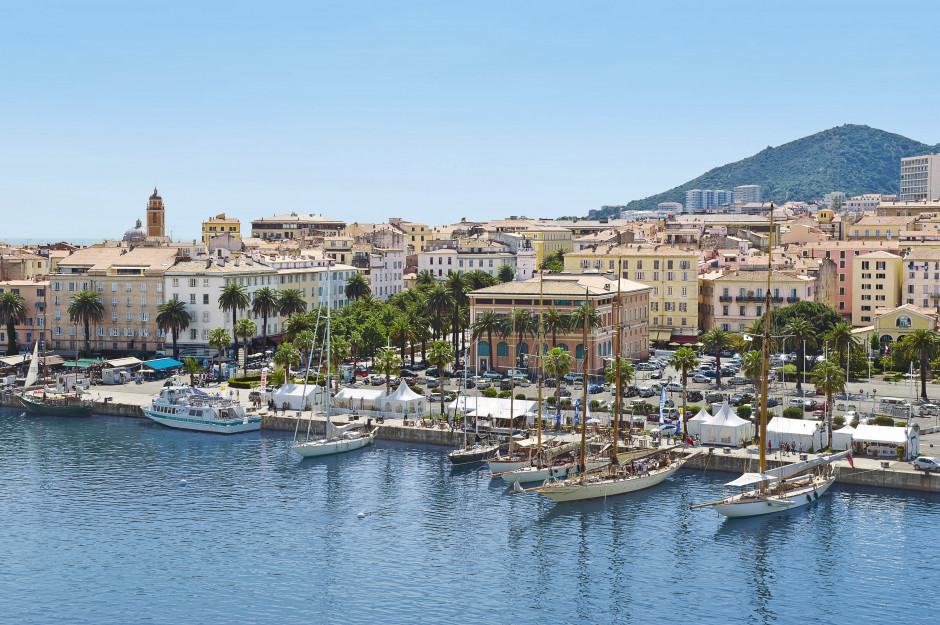 Korsika - Ajaccio idyl og sommer
