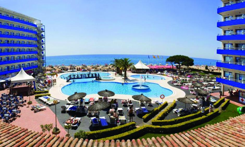 Hotel Tahiti Playa - Poolområde med havudsigt