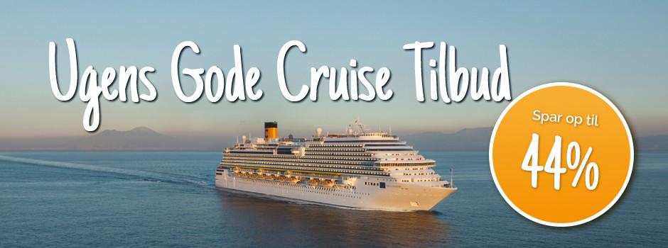 Cruiseskib på havet