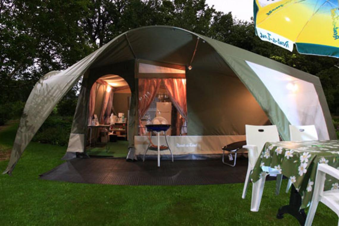 Glam Lodge telt paa Camping Ca Savio