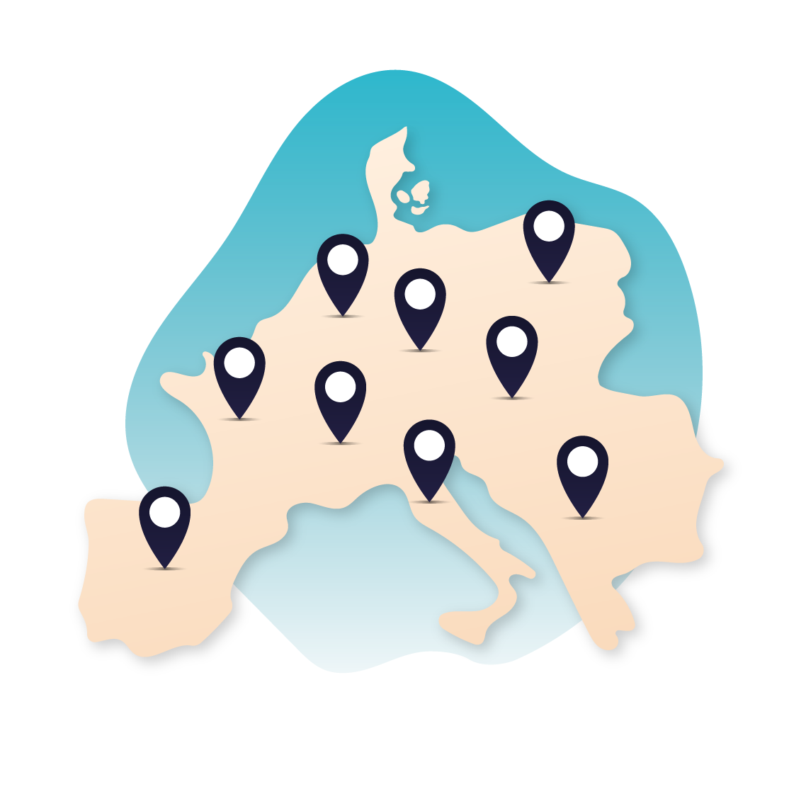 Meer dan 650 campings in heel Europa
