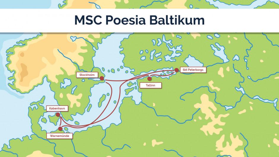 MSC Poesia Baltikum