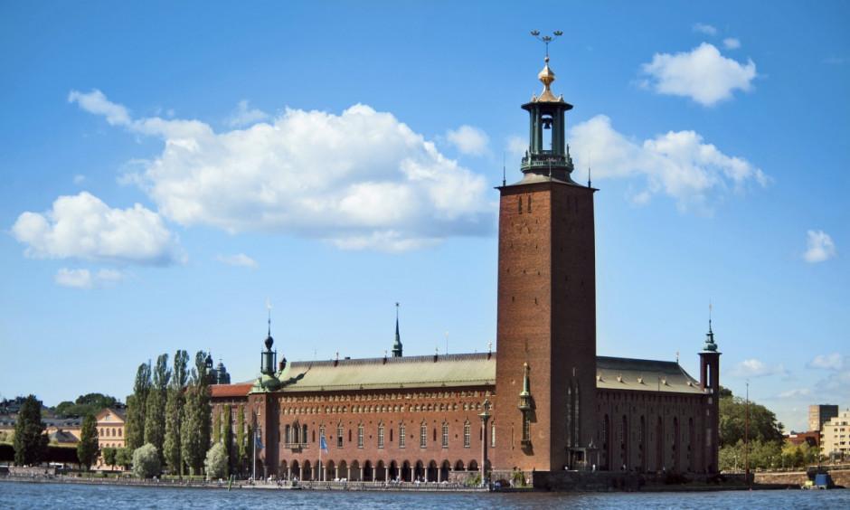 Stockholm - Rådhuset i hovedstaden