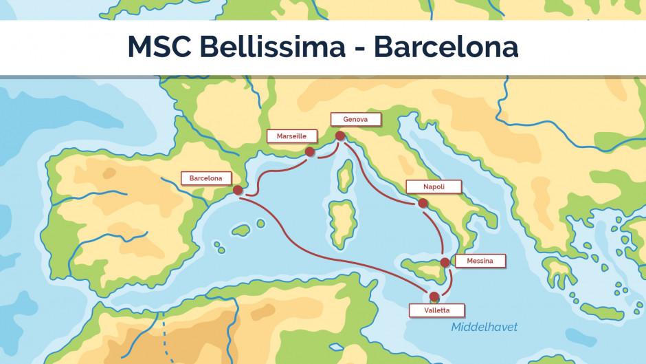 MSC Bellissima - Barcelona