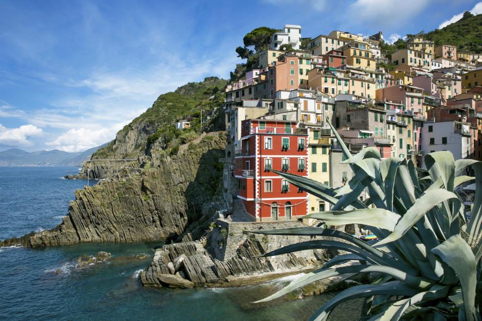 La Specia - huse på klipper ved kysten