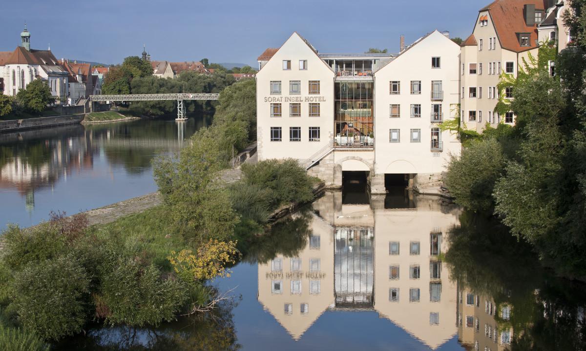 Hotel Sorat Insel - Overnat på en ø på floden Donau