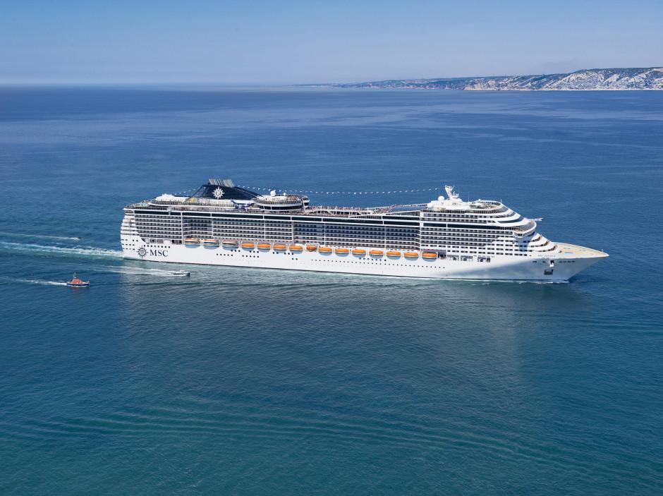Krydstogskibet MSC Divina