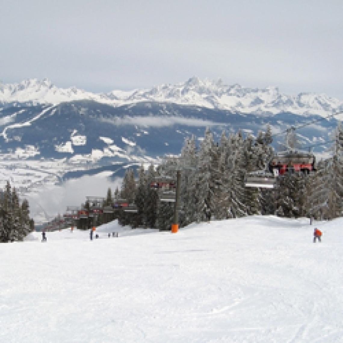 Skilift i Wagrain