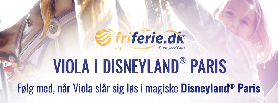Viola i Disneyland Paris