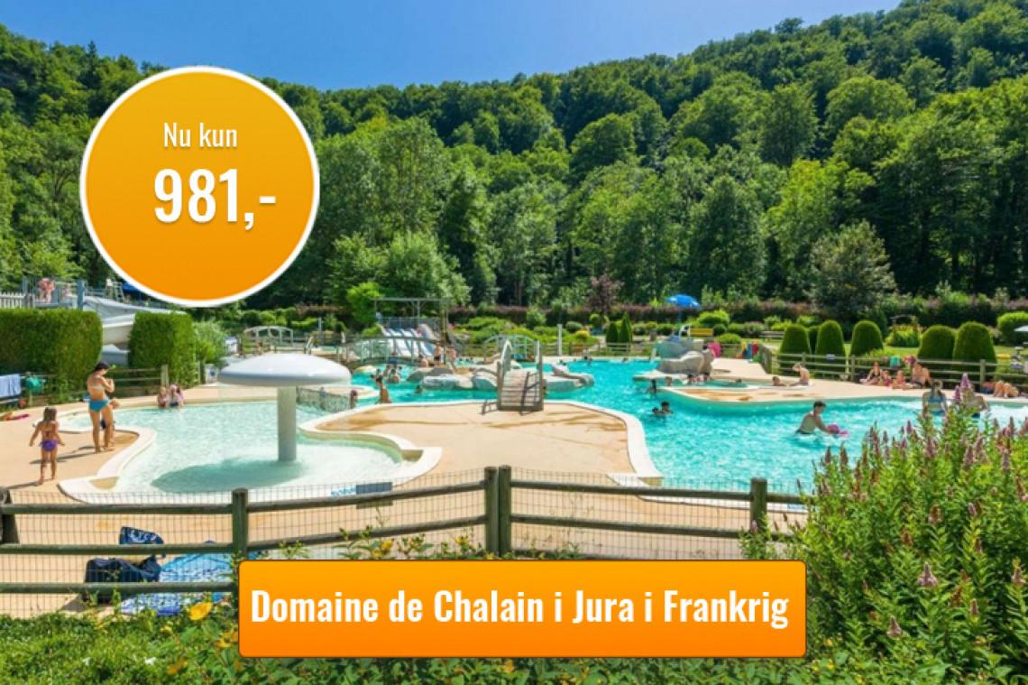 Afbudsrejse til Domaine de Chalain