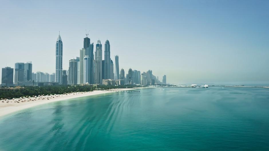 Dubai skyskrabere