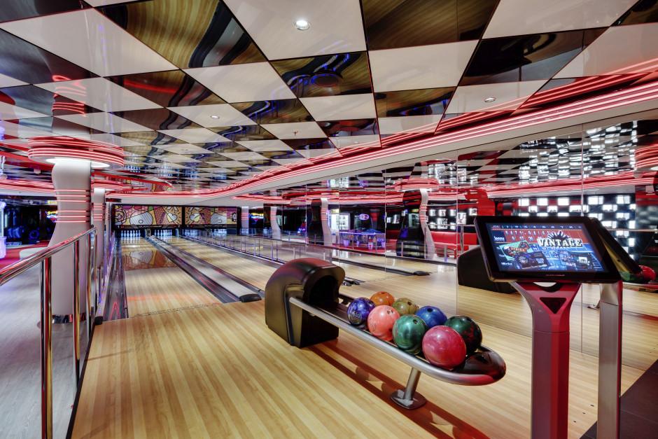 MSC Seaside bowlingbane