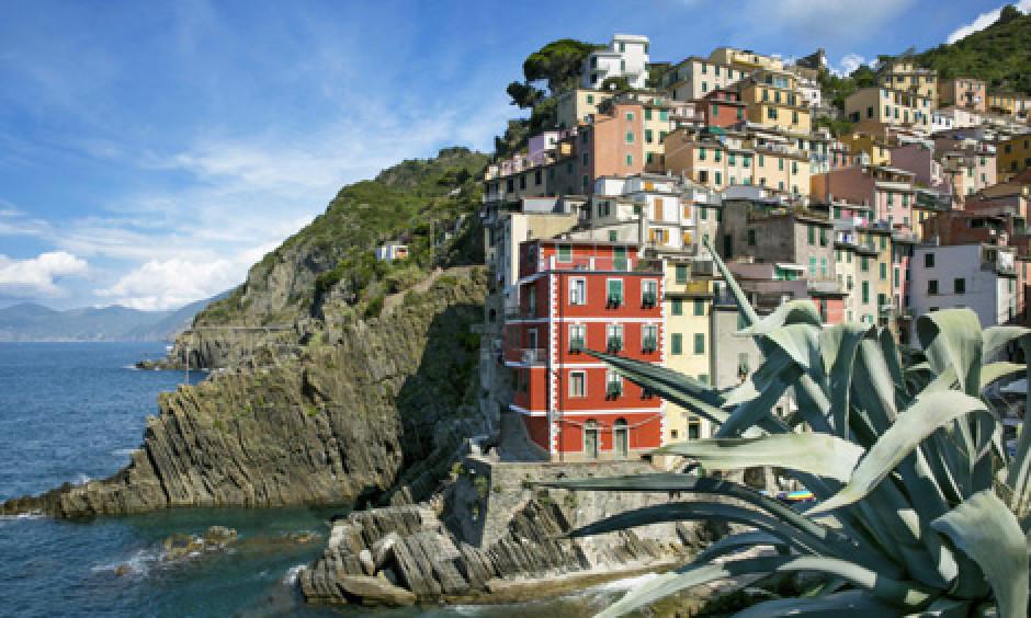 La Spezia - by på bjergside idyl