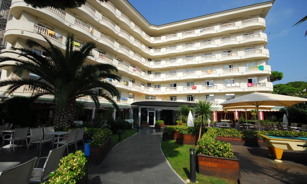 Hotel Alegria Fenals Mar - Hotelkomplekset