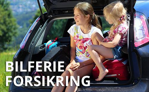 Bilferie forsikring, gratis billeje ved skade