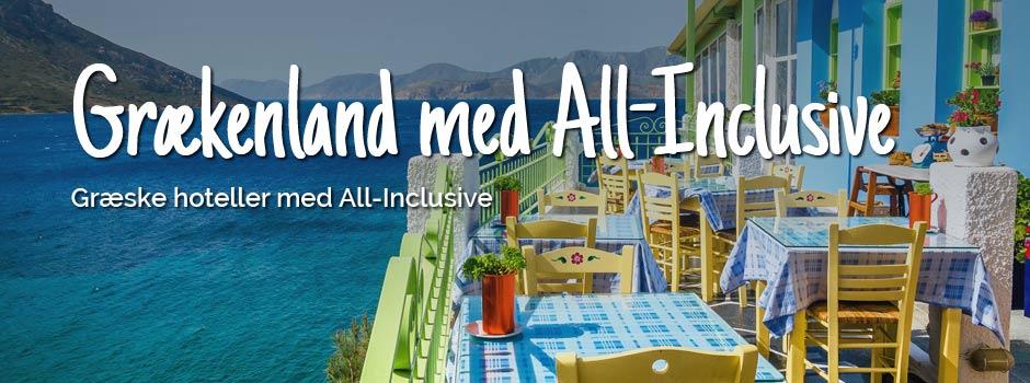 grækenland med all inclusive