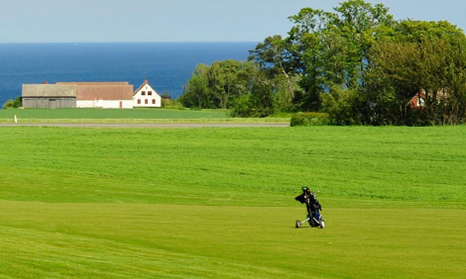 golf, golfbane, bornholm