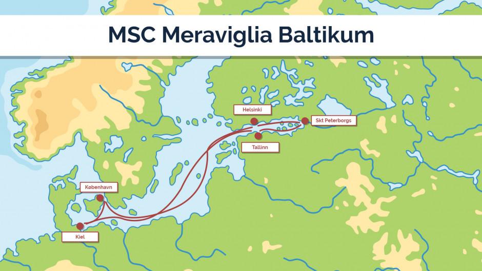 MSC Meraviglia - Baltikum