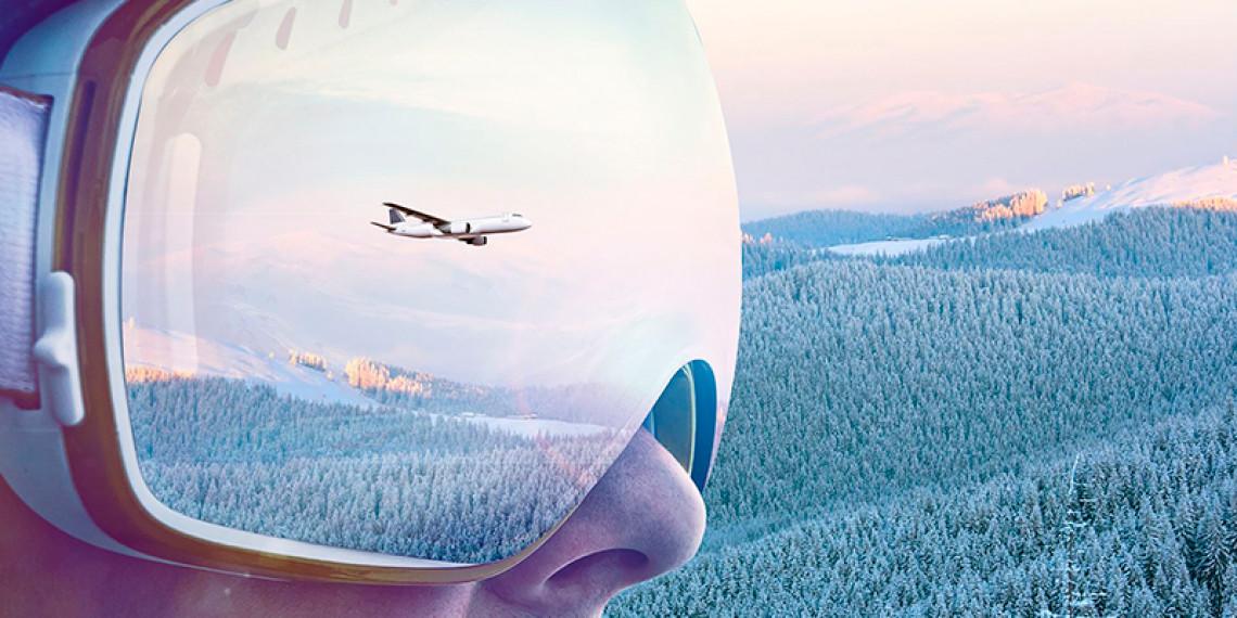 Flyv på ski - Scandinavian Mountains Airport