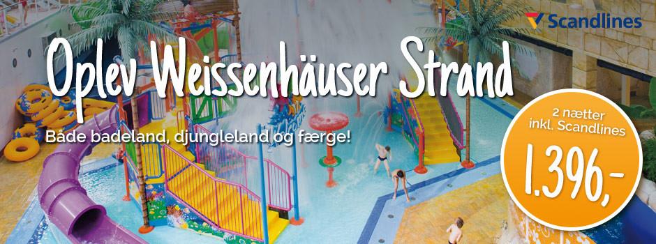Weissenhäuser inkl. færge