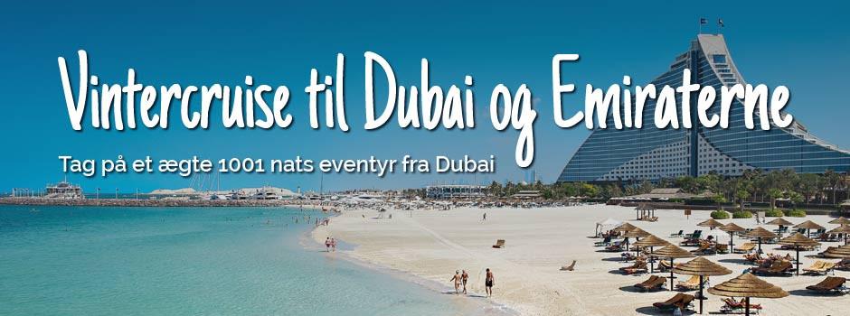 Vinterkrydstogt i Dubai