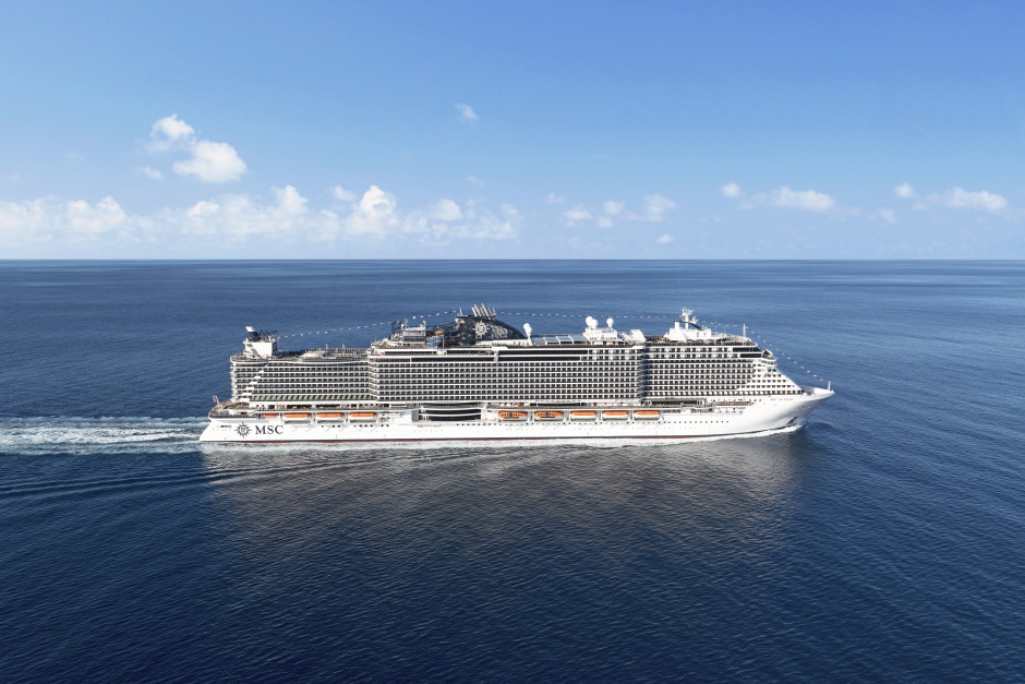 Krydstogtskibet MSC Seaside