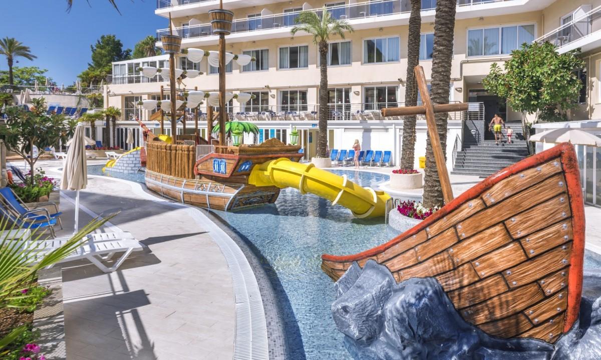 Hotel Oasis Park Splash - Poolområde