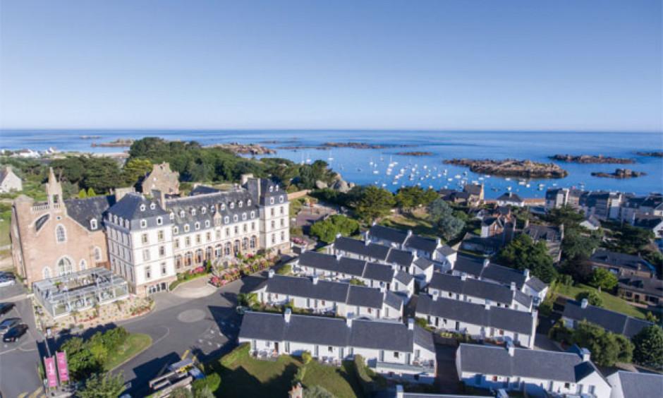 Le Castel Sainte-Anne - boliger og strand