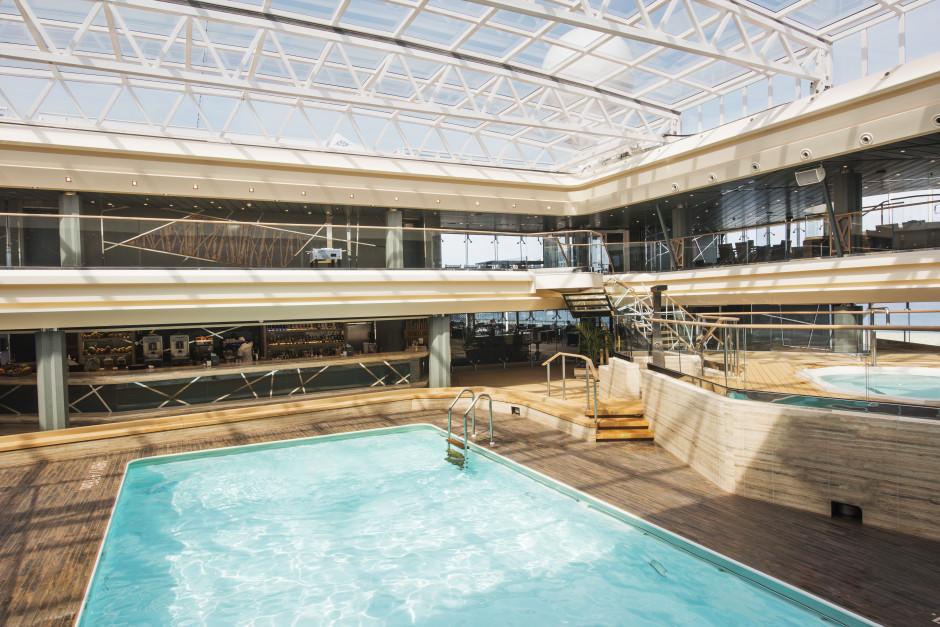Poolområde MSC Meraviglia
