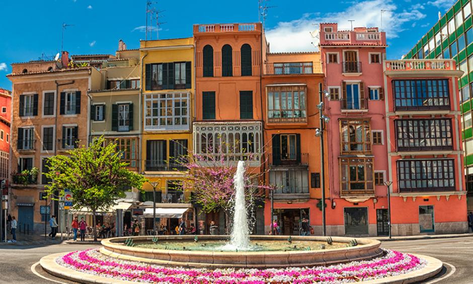Palma de Mallorca - Springvand i byen
