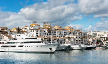 Puerto Banus i Marbella - Yachts