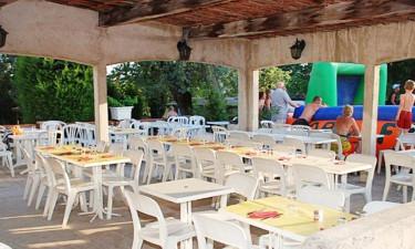 Restaurant Campingplatz Parc Bellevue (Cannes)