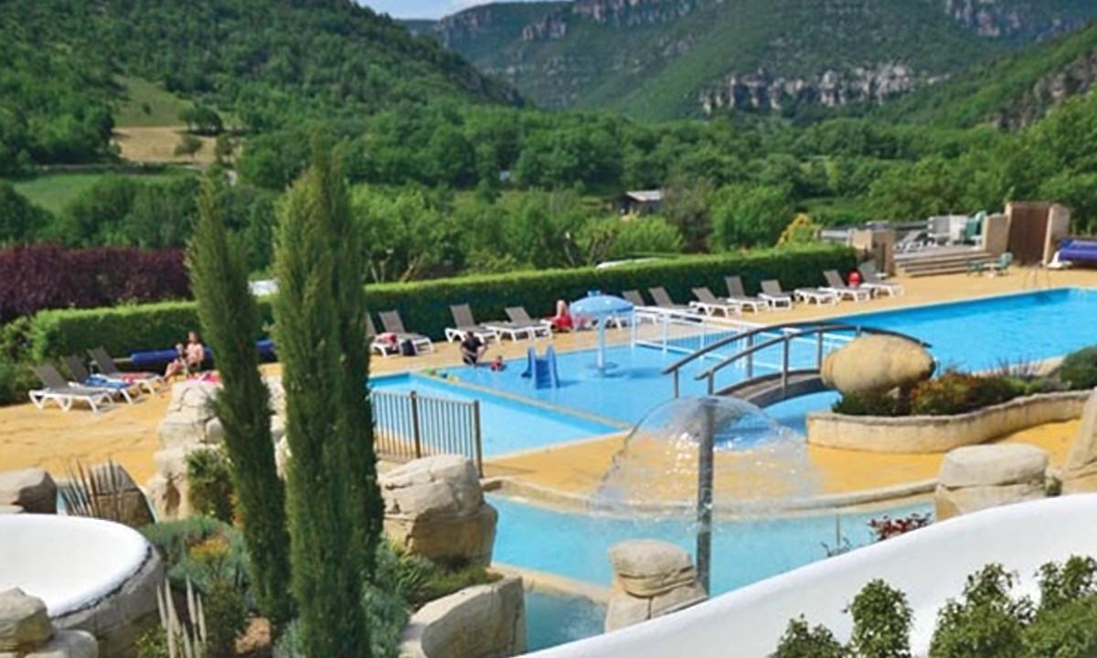 Det grønne poolområde