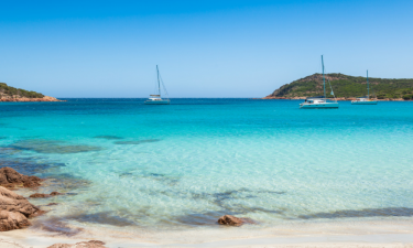Strand Camping La Listra auf Korsika