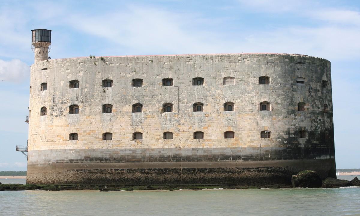 Fort Boyard i Charente-Maritime i Frankrig