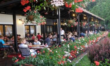 Restaurant Camping Plitvice Holiday Resort in Zentral-Kroatien