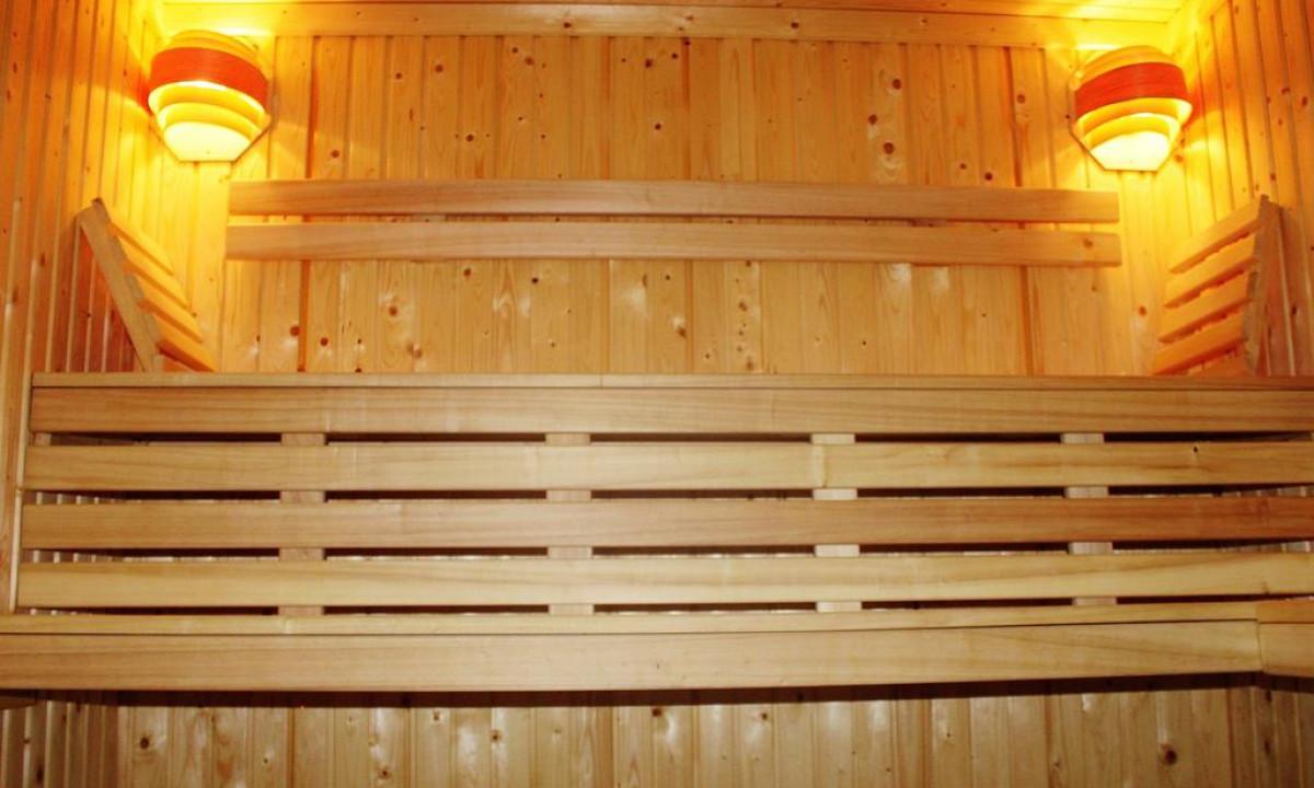Evian sauna