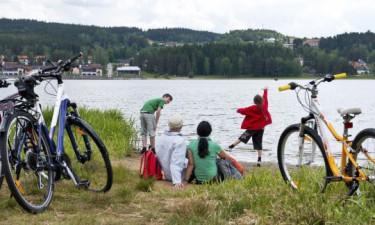 Aktiviteter for både voksne og børn på  Marina Lipno