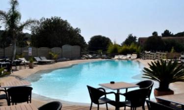 Pool Camping Le Colomba auf Korsika